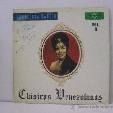 Discos de vinilo: ROSALINDA GARCIA - CLASICO VENEZOLANOS - RARO ORIGINAL VENEZUELA - FONOGRAMA. Lote 25051775
