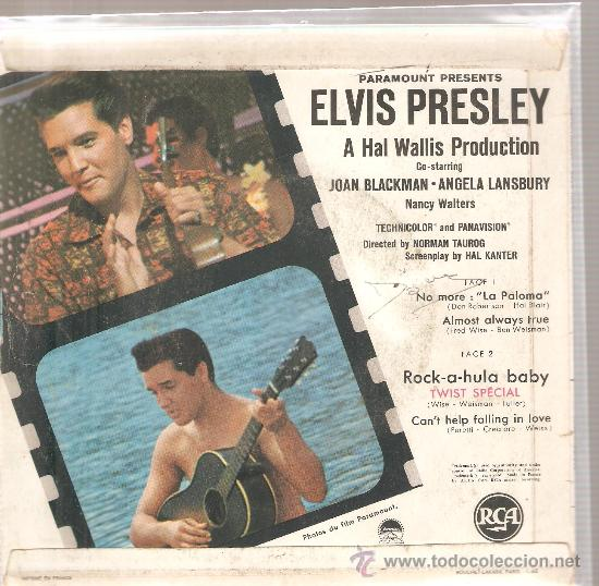 Discos de vinilo: EP ELVIS PRESLEY - NO MORE ( LA PALOMA ) + 3 - Foto 2 - 25060425