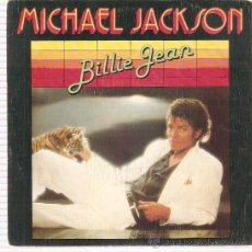 Discos de vinilo: SINGLE MICHAEL JACKSON - BILLIE JEAN - IT'S THE FALLING IN LOVE. Lote 25060514