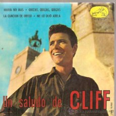 Discos de vinilo: EP CLIFF RICHARD & THE SHADOWS : MARIA NO MAS . Lote 25060632