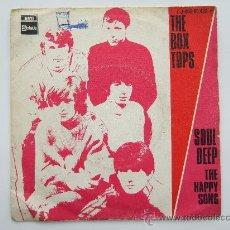 Discos de vinilo: THE BOX TOPS - SINGLE VINILO STATESIDE 1969 - SOUL DEEP - THE HAPPY SONG. Lote 25064581