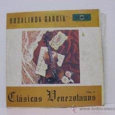 Discos de vinilo: ROSALINDA GARCIA - CLASICOS VENEZOLANOS VOL III - ORIGINAL VENEZUELA - FONOGRAMA. Lote 25068517