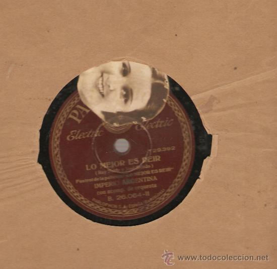 Discos de vinilo: 2 DISCOS IMPERIO ARGENTINA: ECHALE GUINDA AL PAVO + LO MEJOR ES REIR - Foto 2 - 25070450