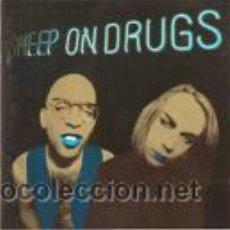 Discos de vinilo: SHEEP ON DRUGS - ON DRUGS - LP - ISLAND RECORDS 1994 - BROWN VINYL. Lote 25073522