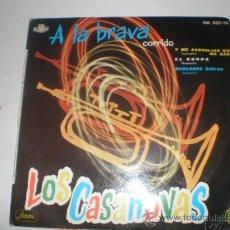 Discos de vinilo: SINGLE VINILO LOS CASANOVAS. Lote 167003566