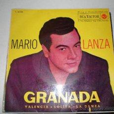 Discos de vinilo: SINGLE VINILO DE MARIO LANZA. Lote 26653316