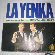 Discos de vinilo: SINGLE VINILO DE LA YENKA. Lote 26695167