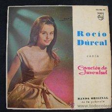 Discos de vinilo: ROCIO DURCAL // CANCION DE JUVENTUD // BANDA ORIGINAL DE LA PELICULA. Lote 25106010