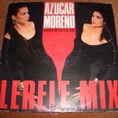 Discos de vinilo: AZUCAR MORENO - MAXI AUNQUE ME FALTE EL AIRE. Lote 25108569