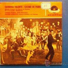 Discos de vinilo: CATERINA VALENTE - SILVIO FRANCESCO - ADALBERT LUCKOWKI - ARMAND MIGIANI AÑO 1958. Lote 25144607