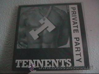 PRIVATE PARTY - TENNENTS / PUPPET CAPERS - MAXI-SINGLE I.M.W. - IMW 1201 - UK 1987 (Música - Discos de Vinilo - Maxi Singles - Rap / Hip Hop)