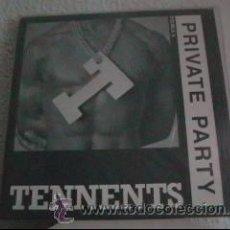Discos de vinilo: PRIVATE PARTY - TENNENTS / PUPPET CAPERS - MAXI-SINGLE I.M.W. - IMW 1201 - UK 1987. Lote 26624734