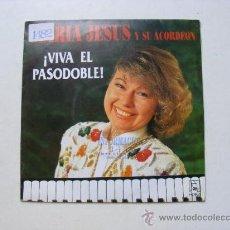 Discos de vinilo: MARIA JOSE, VIVA EL PASODOBLE. Lote 25219667