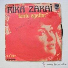 Vinyl records - rika zarai, tante agathe - 25220220