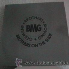 Discos de vinilo: BMG - BROTHERS ON THE SLIDE - ELECTRONIC, HIP HOP - BREAKS - MAXI BLACK OUT ALEMANIA 1990. Lote 25178446