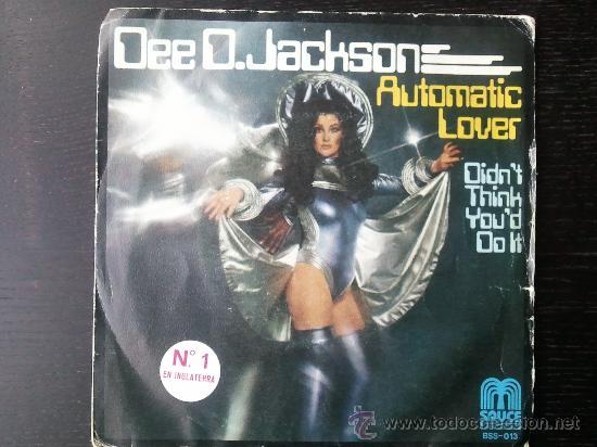 "DEE D. JACKSON - AUTOMATIC LOVER - SINGLE VINILO 7"" - 2 TRACKS - 1978 (Música - Discos - Singles Vinilo - Pop - Rock - Extranjero de los 70)"