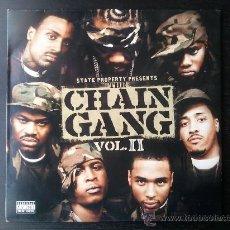 Discos de vinilo: THE CHAIN GANG - VOL. II - DOBLE LP VINILO - ROCAFELLA RECORDS - 2003. Lote 29393494