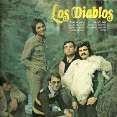 Discos de vinilo: LOS DIABLOS 10¨ (25 CTMS.) DEL SELLO ORLADOR AÑO 1973. Lote 25187677