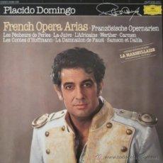 Discos de vinilo: PLÁCIDO DOMINGO - FRENCH OPERA ARIAS (EDICIÓN ALEMANA). Lote 26580585