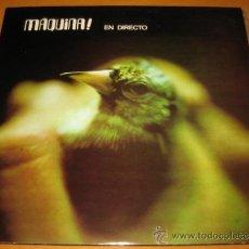 Discos de vinilo: MAQUINA - MAQUINA EN DIRECTO - 2 LP - DB 1972 SPAIN - ED ESPECIAL COLECCIONISTAS 1982 - N MINT. Lote 26582061