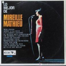 Discos de vinilo: MIEREILLE MATHIEU - MOVIEPLAY1968. Lote 25203942
