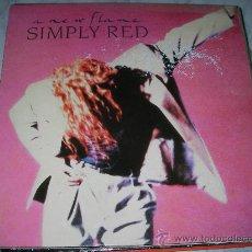 Discos de vinilo: LP SIMPLY RED - A NEW FLAME - ENVIO GRATIS A ESPAÑA. Lote 25204807
