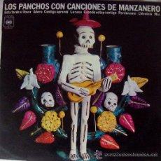 Discos de vinilo: LOS PANCHOS - LOS PANCHOS CON CANCIONES DE MANZANERO. Lote 25226686