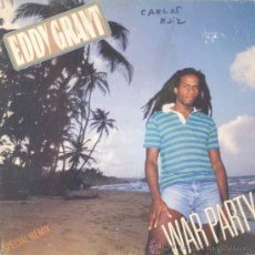 Discos de vinilo: EDDY GRANT - WAR PARTY - SINGLE PROMOCIONAL ESPAÑOL DE 1983. Lote 25231663