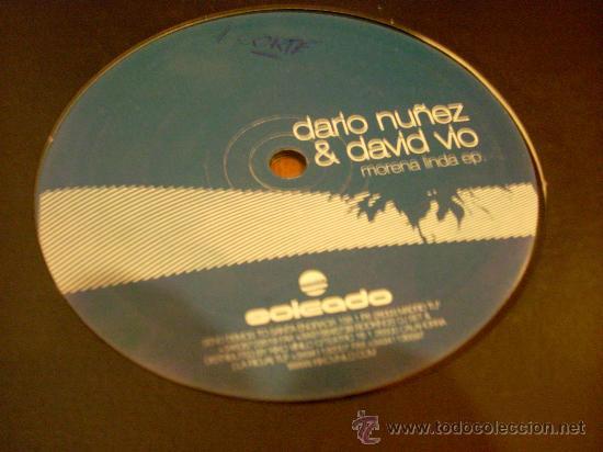 Discos de vinilo: Maxi-single 12 pulgadas. Morena Linda EP, de Darío Nuñez y David Vio. - Foto 2 - 25250230