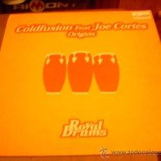 Discos de vinilo: MAXI-SINGLE 12 PULGADAS. 'ORIGINS', DE COLDFUSION FEAT. JOE CORTES.. Lote 25250414