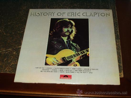 ERIC CLAPTON DOBLE LP HISTORY (Música - Discos - LP Vinilo - Pop - Rock - Extranjero de los 70)