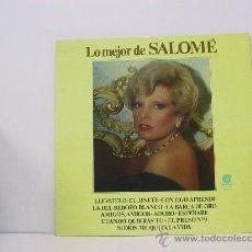 Disques de vinyle: SALOME - LO MEJOR DE... - IMPACTO 1978. Lote 25264201