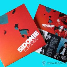 Disques de vinyle: SIDONIE - EL INCENDIO - EDICION LIMITADA EN VINILO 180 GRMS - POCAS COPIAS - TRILOBITE RECORDS. Lote 184675545
