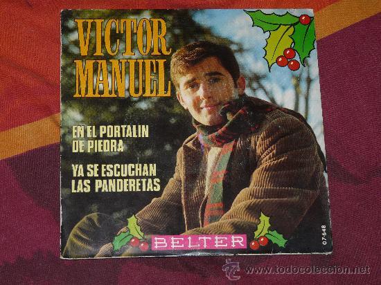 SINGLE VICTOR MANUEL -BELTER- 1.969 (Música - Discos - Singles Vinilo - Cantautores Españoles)