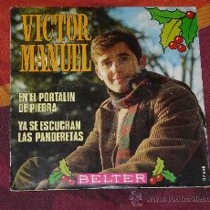 Discos de vinilo: SINGLE VICTOR MANUEL -BELTER- 1.969. Lote 25294628
