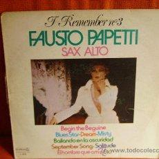 Discos de vinilo: FAUSTO PAPETTI