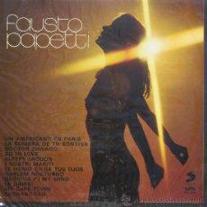 Disques de vinyle: FAUSTO PAPETTISELECTOR1977. Lote 25344882