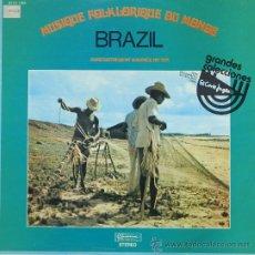 Discos de vinilo: MUSICA FOLCLORICA DE BRASIL = MUSIDISC1978. Lote 25345737