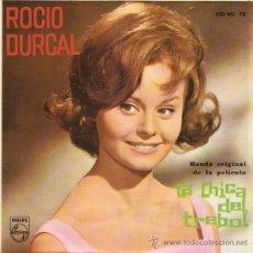 Discos de vinilo: EP ROCIO DURCAL BANDA ORIGINAL DE LA PELICULA LA CHICA DEL TREBOL. Lote 25365161