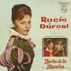 Discos de vinilo: EP ROCIO DURCAL BANDA ORIGINAL DE LA PELICULA LA CHICA DEL TREBOL. Lote 25365204