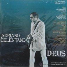 Discos de vinilo: ADRINO CELENTANO - DEUS - ARIOLA 1981. Lote 25703891
