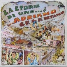 Discos de vinilo: ADRINO CELENTANO - LA STORIA DI UNO - DOBLE LP - ARIOLA 1978. Lote 25703912