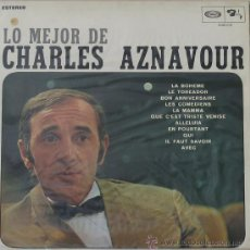 Discos de vinilo: LO MEJOR DE CHARLES AZNAVOUR - MOVIE PLAY-1988. Lote 25704086