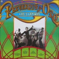 Discos de vinilo: CINCO LATINOS, LOS - DOBLE LP - EPIC-1981. Lote 25705207