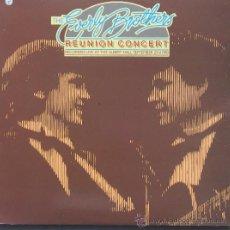 Discos de vinilo: EVERLY BROTHERS - REUNI?N CONCERTDOBLE LP - ARIOLA-1995. Lote 25705871