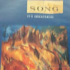 Discos de vinilo: IT´S IMMATERIAL,SONG DEL 90. Lote 25379270