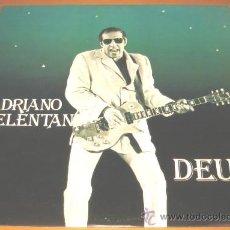 Discos de vinilo: ADRIANO CELENTANO - DEUS - LP - ARIOLA 1981 SPAIN 203760 - COMO NUEVO / N MINT. Lote 25380587
