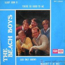 Discos de vinilo: THE BEACH BOYS // SLOOP JOHN B + 3. Lote 25387409