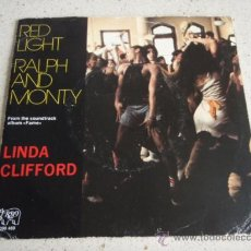 Discos de vinilo: LINDA CLIFFORD FILM 'FAME' ( RED LIGHT - RALPH AND MONTY ) 1980 SINGLE45 RSO. Lote 239695215