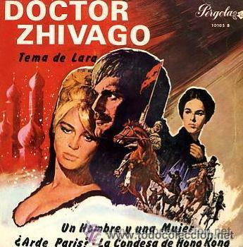 PAUL MAURIAT - DOCTOR ZHIVAGO - 1967 (EXCELENTE CONSERVACIÓN) (Música - Discos de Vinilo - EPs - Bandas Sonoras y Actores)